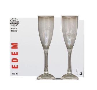 Эдем набор бокалов д/вина 3*210мл, 3*170 мл