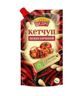 Кетчуп Шашличний Щедро 300г