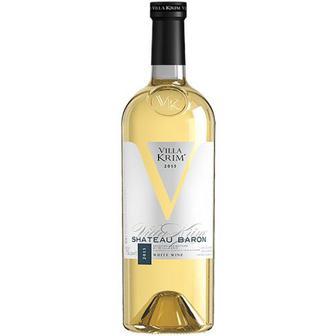 Вино Villa Krim Shateau Baron напівсолодке біле 1,5л