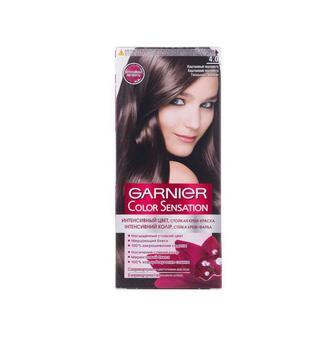 Крем-краска для волос COLOR SENSATION тон 4.0 Каштановый перламутр
