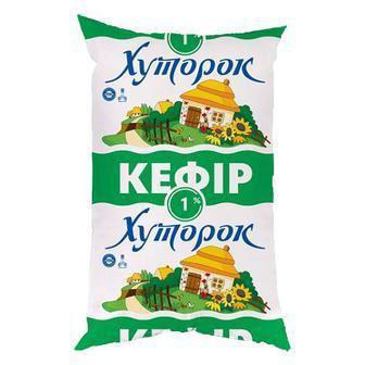 Кефір 2,5%  Хуторок п/е 900 г