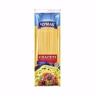 Макарони спагеті, спагетіні Чумак 400 г
