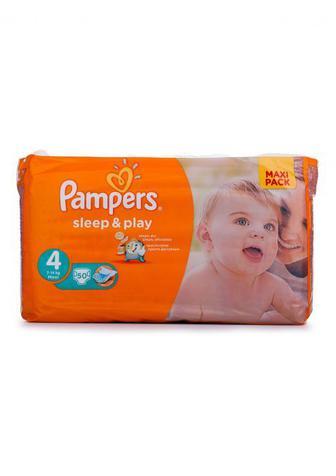 Подгузники PAMPERS Sleep & Play р4 9-14кг 50шт
