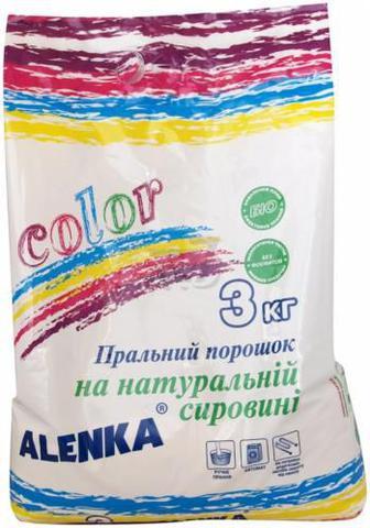 Пральний порошок універсал ALENKA Color 3 кг