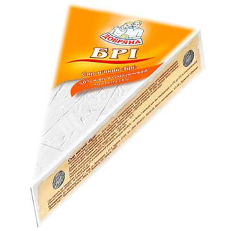 Сир Добряна Брі біла пліснява 50% 115г