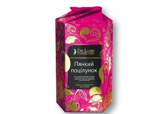 Чай «П'янкий поцiлунок», чорний, зі шматочками вишні та квітками сафлору De Luxe F&G Selected 80 г