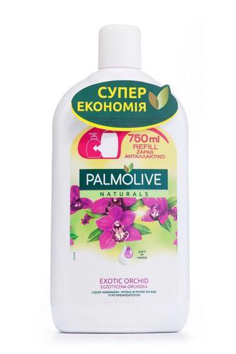 Мыло жидкое Palmolive Черная Орхидея запаска, 750мл