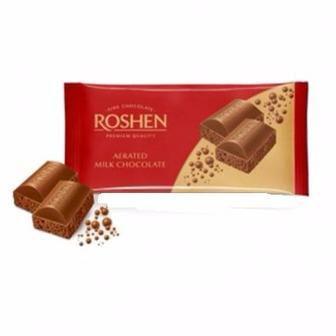 Шоколад пористый молочный Roshen, 85г