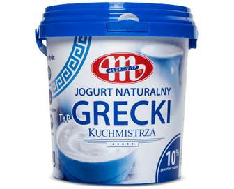 Йогурт Mlekovita типу «Грецький» без наповнювача, 10% жиру, 1кг