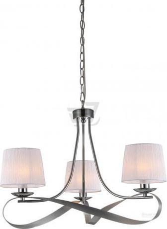 Люстра підвісна Victoria Lighting 3x40 Вт E14 хром/срібло Kamelia/SP3