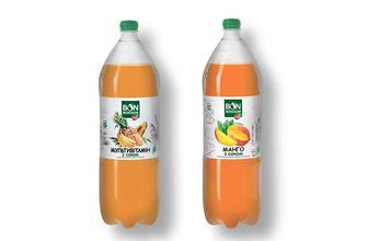 Напій Мультивітамін/Манго, безалкогольний соковмісний сильногазований Бон Буассон 2 л