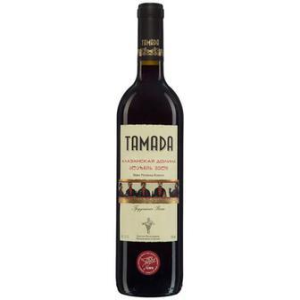 Вино Tamada Алазанская долина напівсолодке червоне 0.75л