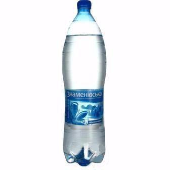 Вода мінеральна Знаменівська газована/негазована 2л