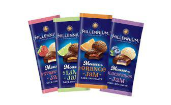 Шоколад мусовий Міленіум 135 г