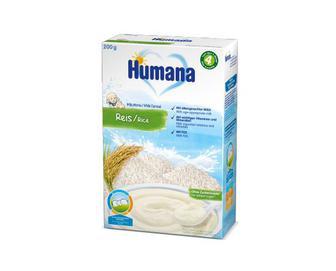 Скидка 20% ▷ Каша Humana молочна рисова, 200 г