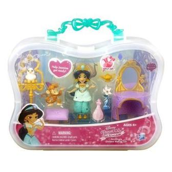 Игровой набор Disney Princess Жасмин и золотой столик (B5341/B7164)