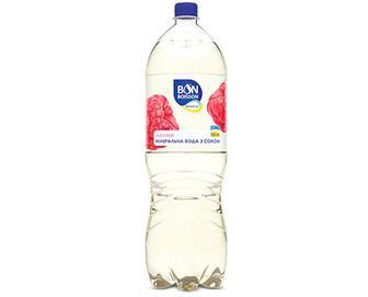 Вода мінеральна BonBoisson Ваlance малина з соком,. 2л