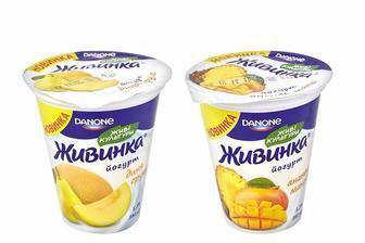 Йогурт Живинка, Данон, 280г