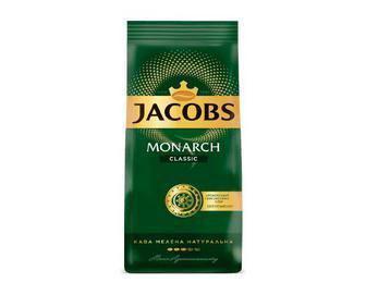 Кофе Jacobs Monarch Classic натуральный жареный молотый, 225г