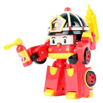Игрушка Рой трансформер с подсветкой Poli Robocar