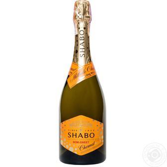 Вино ігристе Shabo біле напівсолодке 750мл
