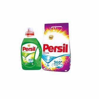 Стиральный порошок Persil 3 кг или гель для стирки Persil 1 л