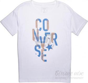 Футболка Converse 10004653-102 M білий