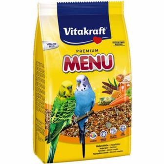 Корм для папуг Menu 500г Vitakraft 21441 /21442