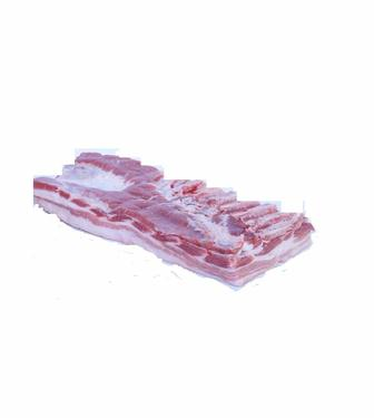 Грудинку свиную охлажденную без шкуры