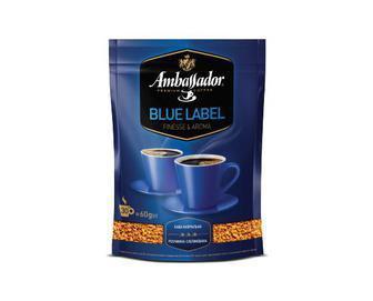 Кава розчинна Blue Label Ambassador 60 г