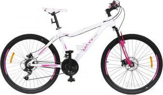 """Велосипед MaxxPro 17"""" F 100 біло-рожевий"""