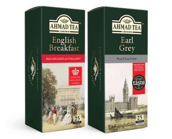 ЧАЙ чорний English Breakfast, 25 х 2 г AHMAD TEA