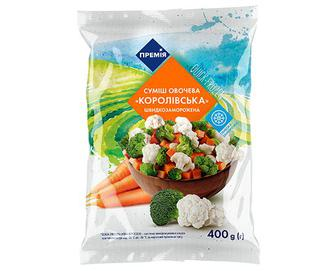 Суміш овочева «Королівська» «Премія»® 400г