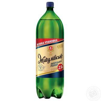 Пиво Запорізького розливу Жигулівське 2,5 л