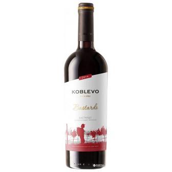 Вино Коблево Бордо Бастардо красное полусладкое 0.75 л 9.5-12%