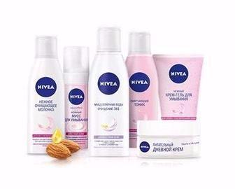 Засоби для догляду за шкірою обличчя та тіла Nivea