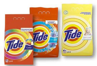 Засіб миючий синтетичний порошкоподібний Lenor touch/ Color для всіх типів пральних машин/ для чутливої та дитячої шкіри, автомат Tide 2,4 кг